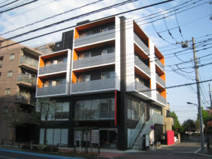 東久留米市Gマンション外壁塗装工事