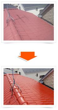 屋根工事の重要ポイント 定期的な塗装工事