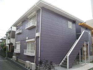 武蔵野市 C棟 外壁塗装工事 施工後