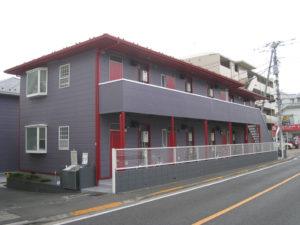 武蔵野市 A棟 外壁塗装工事 施工後