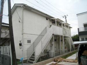 三鷹市 A棟 外壁塗装工事 施工前