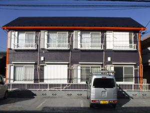 三鷹市 アパート 外壁塗装工事 施工前