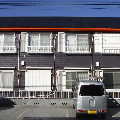 アパート 外壁塗装工事 施工前
