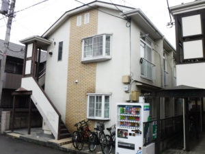 小金井市 アパート 外壁塗装工事 施工前
