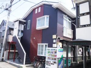 小金井市 アパート 外壁塗装工事 施工後